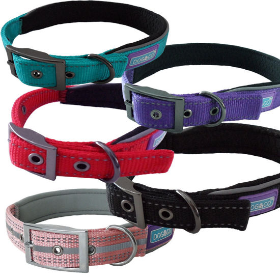 Picture of Reflective Padded Dog Collar