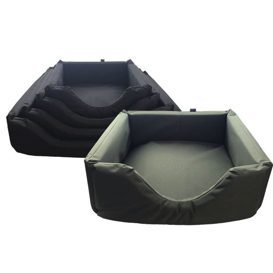 Picture of Waterproof Rectangle Dog Bed