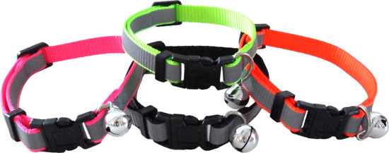 Picture of Reflective Neon Cat Collar