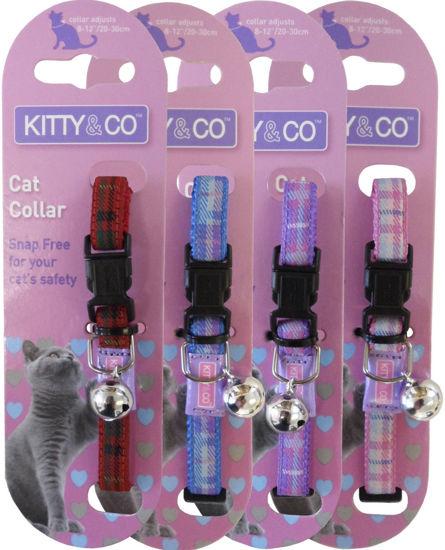 Picture of Tartan Cat Collar